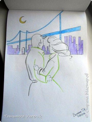 Одним росчерком карандаша...палитра чувств,эмоций и настроений...❤  Идеи зарисовок не мои.Срисовывала иллюстрации  разных талантливых илюстраторов=) фото 10