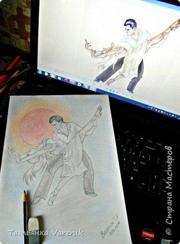Одним росчерком карандаша...палитра чувств,эмоций и настроений...❤  Идеи зарисовок не мои.Срисовывала иллюстрации  разных талантливых илюстраторов=) фото 14