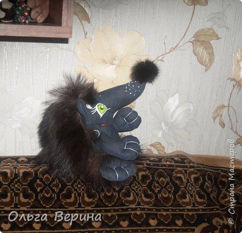 Котик и ежик фото 5