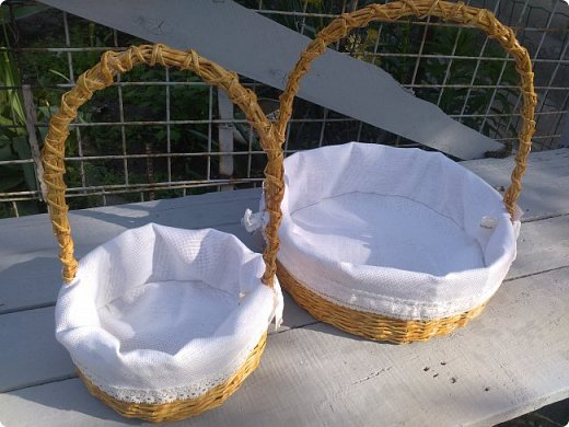 Вот такие корзиночки сплелись на заказ перед праздником Пасхи))))  фото 1