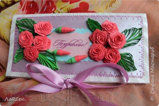 """Подарочный конверт """"Весна"""" фото 8"""