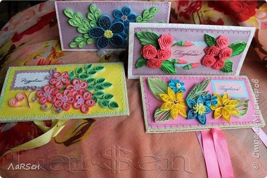 """Подарочный конверт """"Весна"""" фото 10"""