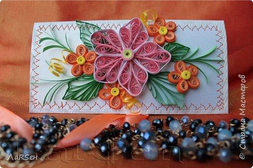 """Подарочный конверт """"Весна"""" фото 3"""