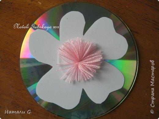 Красота из CD-дисков фото 5