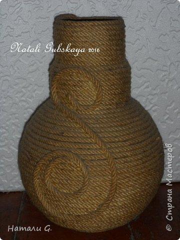 Зимняя ваза фото 6