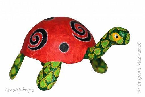 Черепаха - божья коровка