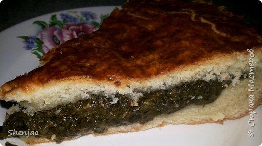 Сладкий пирог со щавелем фото 3
