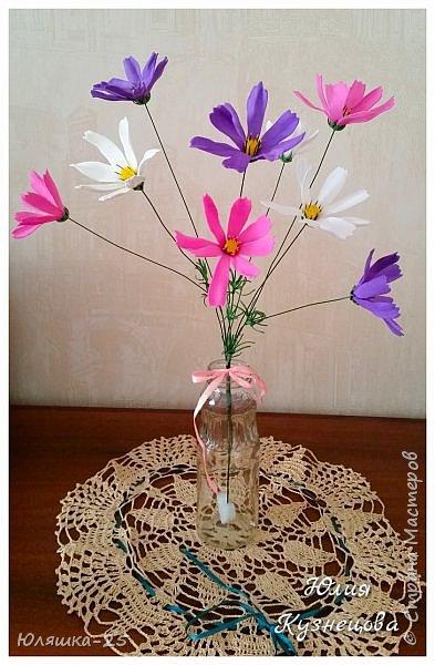 Представляю Вашему вниманию несколько своих последних работ.  Пионовидная роза сделана по МК замечательной мастерицы КатиСтеп  фото 7
