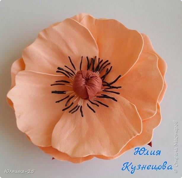 Представляю Вашему вниманию несколько своих последних работ.  Пионовидная роза сделана по МК замечательной мастерицы КатиСтеп  фото 4