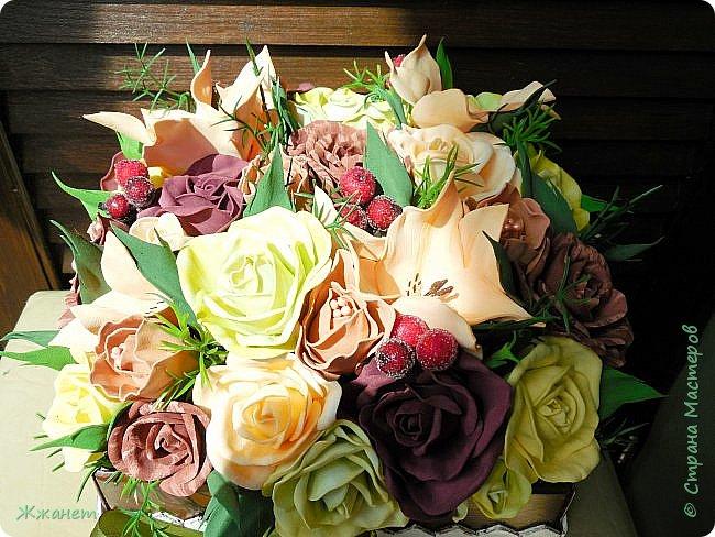 Клумба с цветами №2. фото 2