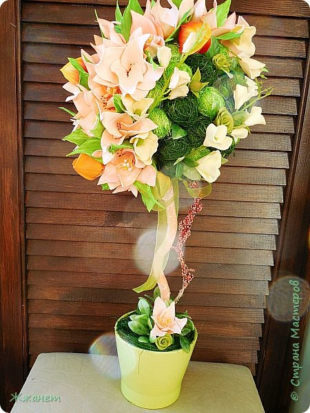 Цветы из фома и холодного фарфора ручной работы. фото 1