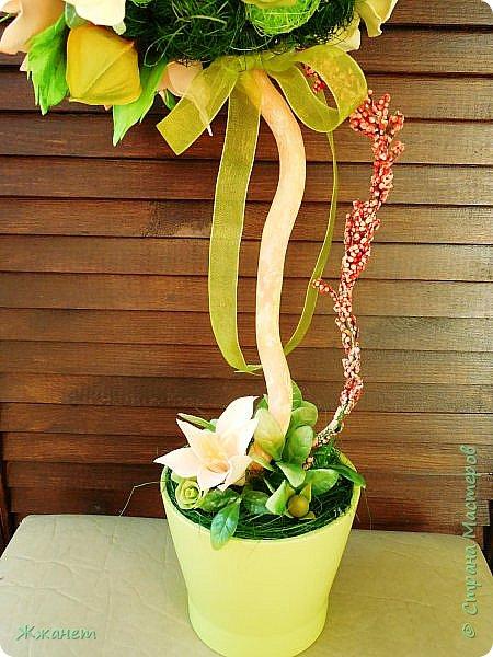 Цветы из фома и холодного фарфора ручной работы. фото 8