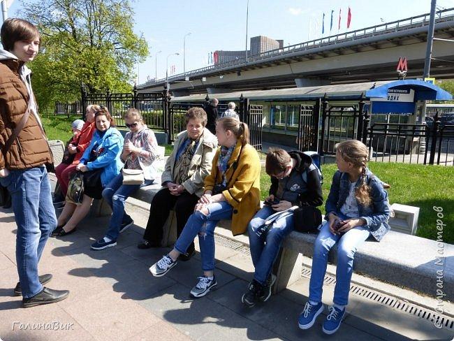 6 мая состоялась экскурсия по Аллее Космонавтов. Начало Аллеи - место встречи. фото 1