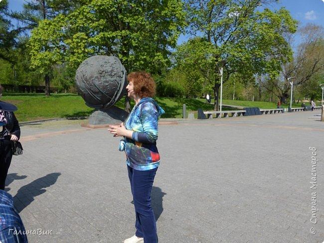 6 мая состоялась экскурсия по Аллее Космонавтов. Начало Аллеи - место встречи. фото 7