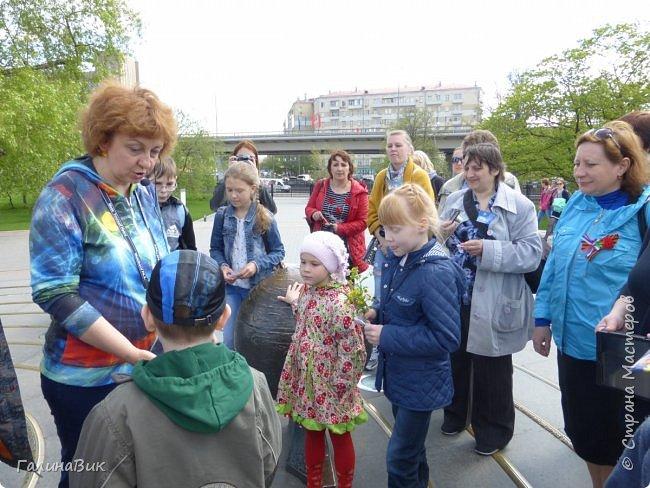 6 мая состоялась экскурсия по Аллее Космонавтов. Начало Аллеи - место встречи. фото 10