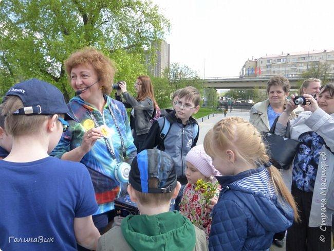 6 мая состоялась экскурсия по Аллее Космонавтов. Начало Аллеи - место встречи. фото 11