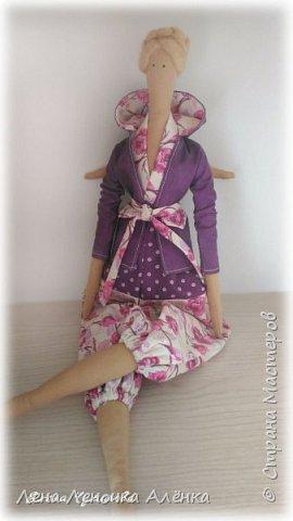 Моя новая куколка тильда Весенний ангел! Знакомьтесь, Арина ищет свою хозяйку. Одёжка сшита из германского хлопка, жакетик снимается. фото 4