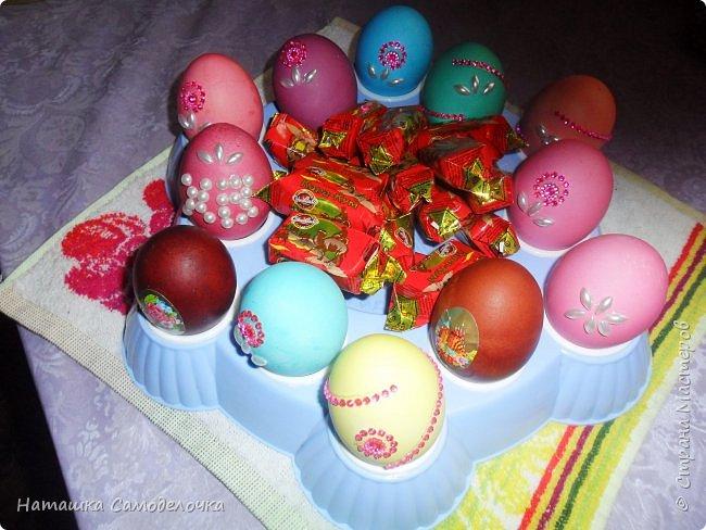 Привет,вот такие корзиночки дарила на пасху в этом году,все поинтересней,чем просто яичко ))) фото 5
