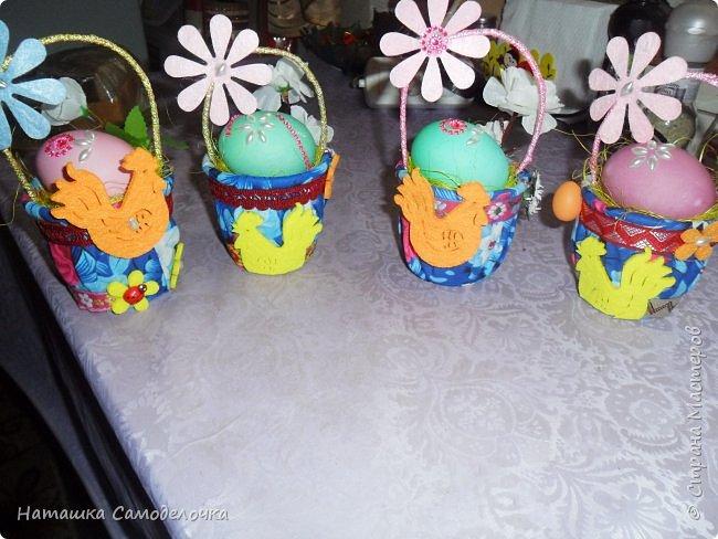 Привет,вот такие корзиночки дарила на пасху в этом году,все поинтересней,чем просто яичко ))) фото 2