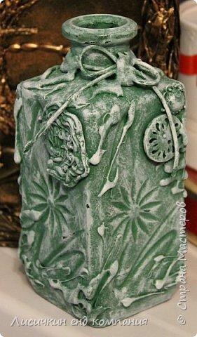 вазы из банок и бутылок фото 4