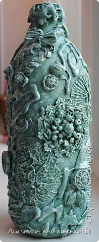 вазы из банок и бутылок фото 10