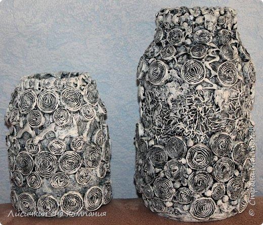вазы из банок и бутылок фото 2