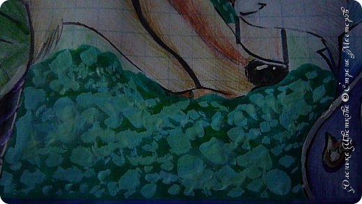 """Всем привет! Сегодня я сдаю работу на конкурс """"Зверополис""""(http://stranamasterov.ru/node/1022836?c=favorite). Я нарисовала главных героев - Ника и Джуди. Головы я разрисовывала поверх карандашей ручками, поэтому бумага там неровная, исправить не удается. Извиняюсь... фото 7"""