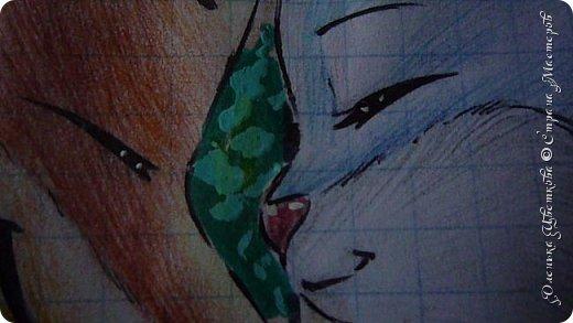 """Всем привет! Сегодня я сдаю работу на конкурс """"Зверополис""""(http://stranamasterov.ru/node/1022836?c=favorite). Я нарисовала главных героев - Ника и Джуди. Головы я разрисовывала поверх карандашей ручками, поэтому бумага там неровная, исправить не удается. Извиняюсь... фото 9"""