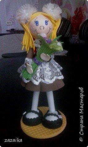 простите за качество фото эту куклу я делала на юбилей технички фото 2
