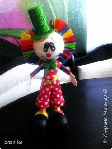 простите за качество фото эту куклу я делала на юбилей технички фото 13