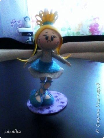 простите за качество фото эту куклу я делала на юбилей технички фото 4