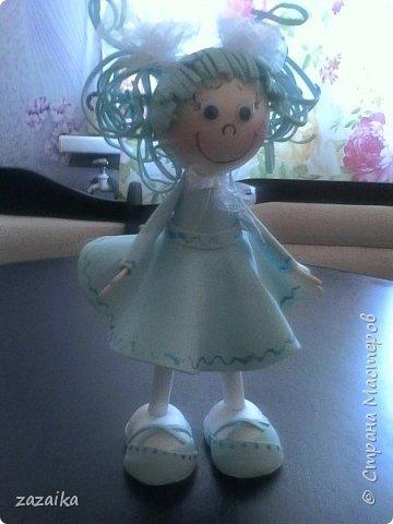 простите за качество фото эту куклу я делала на юбилей технички фото 7