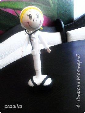 простите за качество фото эту куклу я делала на юбилей технички фото 24