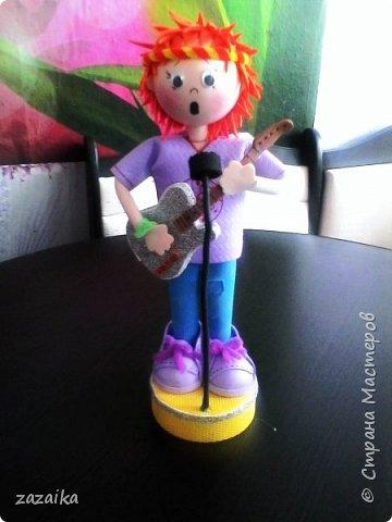 простите за качество фото эту куклу я делала на юбилей технички фото 18