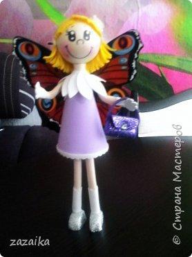 простите за качество фото эту куклу я делала на юбилей технички фото 22