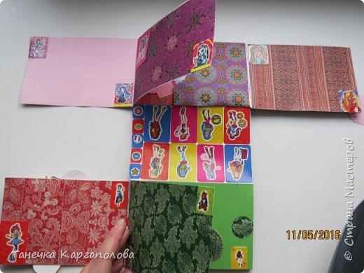Привет всем!! Этот альбом я делала для своей любимой племянницы! Ей исполнилось 12 лет и она очень любит кукол Monster High! Хочу сказать огромное спасибо мастерице КсюИв, которая поделилась со мной схемой данного альбома. Я вдохновилась её альбомами и решила сделать свой! http://stranamasterov.ru/node/919800 вот они!!! фото 3