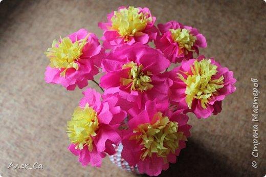 Ваза с яркими цветами     фото 3