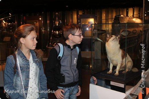 Итак, в музее нас встречает огромный портрет улыбающегося Ю.А.Гагарина. фото 5