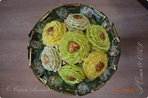Доброго времени суток! Этот тортик делался на юбилей  одной очень хорошей даме. фото 12