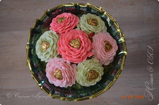 Доброго времени суток! Этот тортик делался на юбилей  одной очень хорошей даме. фото 14