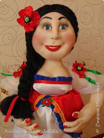 Доброго времени суток, жители Страны Мастеров! Представляю Вам новую куколку. Зовут Оленька. Приятного просмотра! фото 2