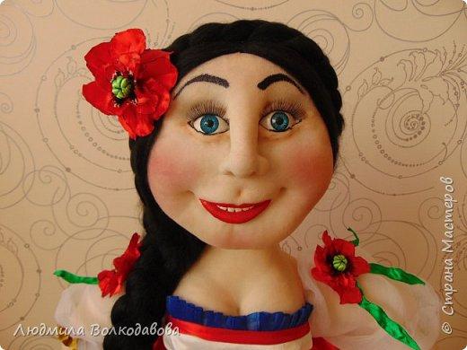 Доброго времени суток, жители Страны Мастеров! Представляю Вам новую куколку. Зовут Оленька. Приятного просмотра! фото 5