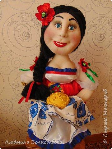 Доброго времени суток, жители Страны Мастеров! Представляю Вам новую куколку. Зовут Оленька. Приятного просмотра! фото 6