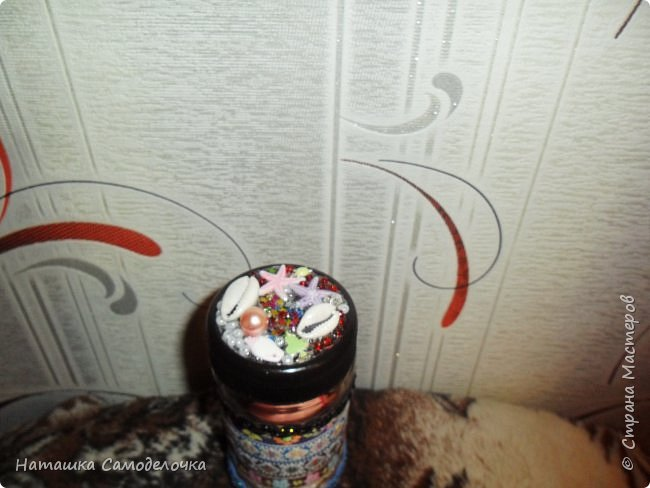 Люблю я всякие баночки украшать,в этой 2 яичка ,подарила подруге,потом пригодится для пуговиц она сказала))) фото 2