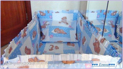 Еще один комплект в кроватку с балдахином  фото 4