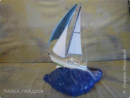 Яхта на волне. фото 3