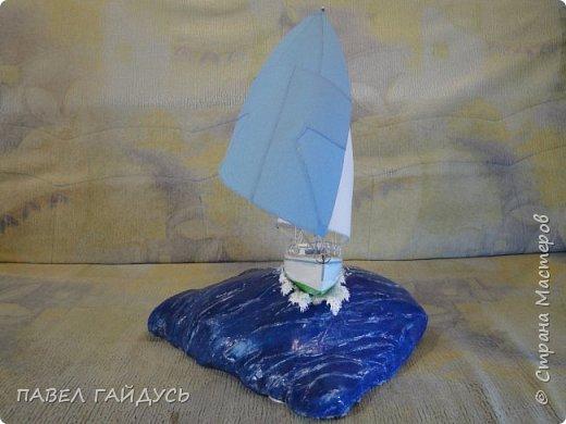Яхта на волне. фото 5
