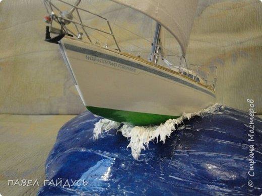 Яхта на волне. фото 6