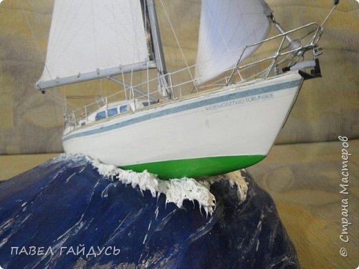 Яхта на волне. фото 7