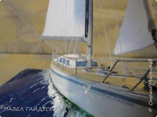 Яхта на волне. фото 8